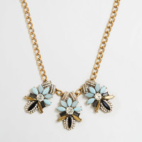 Factory triple fleur necklace