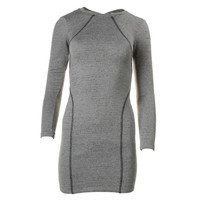 Kain Label Womens Long Sleeves Knee-Length Casual Dress