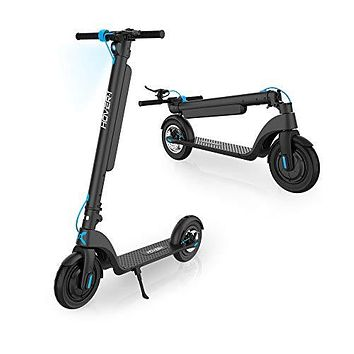 Hover-1 Blackhawk Electric Kick Scooter Portable w/Long Range Removable Battery & 350W Motor