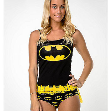Batgirl Tank and Caped Panty Set - Spencer's
