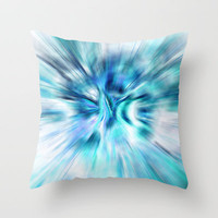 Zoom Throw Pillow by Sylvia Cook Photography