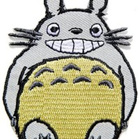 Rabbit Smile Cartoon Kid Baby Jacket T shirt Patch Sew Iron on Embroidered Applique Badge Custom Gift