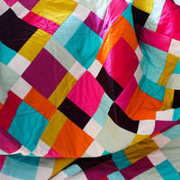 Pure quilt, lap quilt, art gallery solid quilt - FREE SHIPPING