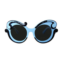 Prada Sold Out Baroque Butterfly Two-Tone Sunglasses