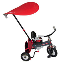 Italtrike Azzurro Push Stroller / Tricycle - Red - 2400RED
