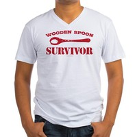 Wooden Spoon Survivor Men's V-Neck T-Shirt
