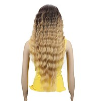 Lace Front Wigs Long Wavy Synthetic Hair