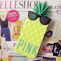 Pineapple Pattern Summer Fashion Style Lovely Women and Men Gift - Phone Case = 4697666052