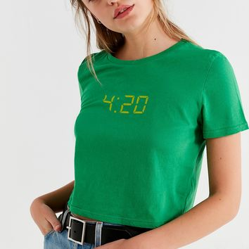 Future State 4:20 Cropped Tee | Urban Outfitters