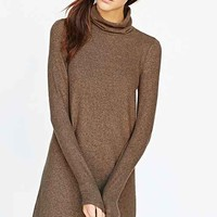 BDG Brushed Turtleneck Swing