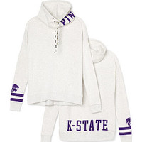 Kansas State University Cowl-neck Pullover - PINK - Victoria's Secret