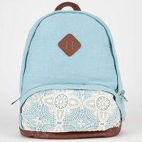 Jersey Knit Backpack Mint One Size For Women 20697552301