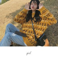Buy Anlay Patterned Sweater | YesStyle