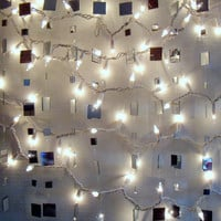 New Years Eve Decoration 10 Strands of Sparkly Mirror Garland for Your New Years Celebration