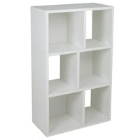 Way Basics: Laguna Bookshelf White