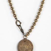Lux Revival Green River Whiskey Necklace - Urban Outfitters