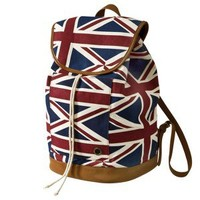 Mossimo Supply Co. Canvas London Print Backpack