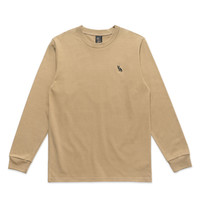OWL LOGO PATCH LONGSLEEVE - GOLD