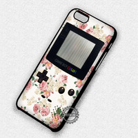 Pastel Floral Gameboy - iPhone 7 6S 5C SE Cases & Covers