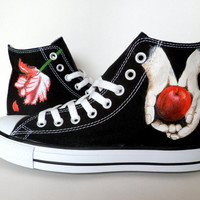 Twilight inspired Converse / Chucks
