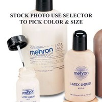 Mehron Liquid Latex 117 (16 oz, Soft Beige)