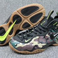 Nike Air Foamposite Pro Black Camo Men Sneaker - Best Deal Online