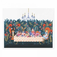 Tea Party Art Print by RIFLE PAPER Co. | Made in USA