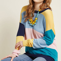 Live It Up Lightweight Knit Sweater