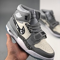 Dior x Air Jordan Legacy 312 ‮bang high‬ casual sports basketball shoes