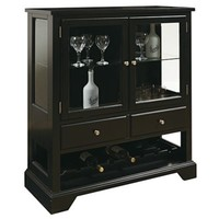 Pulaski Wine Cabinet in Dark Leo Finish