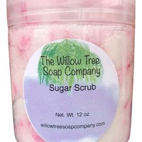 Sugar Scrub, 12 Ounce Jar