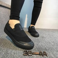 """""""Adidas"""" Unisex Casual Slip On Canvas Plate Shoes Couple Loafer Sneakers"""