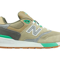 New Balance Men's 997 Traditional Beach Sand Teal ML597NOC