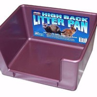 Ferret High Back Litter Pan - 12X14