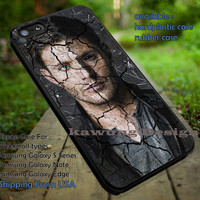 Supernatural Winchester Crack Wall iPhone 6s 6 6s+ 5c 5s Cases Samsung Galaxy s5 s6 Edge+ NOTE 5 4 3 #movie #supernatural #superwholock #sherlock #doctorWho dt