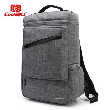 Cool Backpack school CoolBELL 15.6 Inch Multifunctional Backpack Convertible Messenger Laptop Bags With USB Changing Port School bag for Teenagers AT_52_3