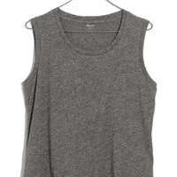 Madewell Whisper Cotton Crewneck Muscle Tank | Nordstrom