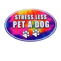 Stress Less Pet A Dog Magnet