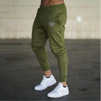 DERMSPE Brand Gyms Men Joggers Casual Men Sweatpants Joggers Pantalon Homme Trousers Sporting Clothing Bodybuilding Pants