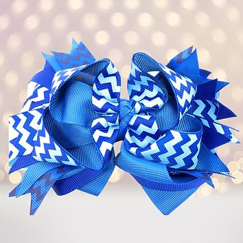Girls Layered Boutique Hair Bows