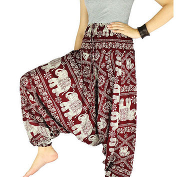 Hippie clothes Hippie pants Gypsy pants  Harem pants Elephant pants Palazzo pants Elephant clothes