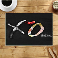 Xo The Weeknd Placemats