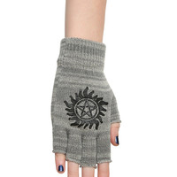 Supernatural Anti-Possession Fingerless Gloves