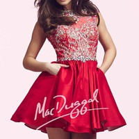 Mac Duggal Homecoming 82226N Dress