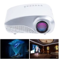 MeGooDo LED Mini Projector Fashionable Home Theater for Video Games TV Movie TXT Music Pocket Size Projector