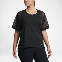 The Nike Breathe (Plus Size) Women's Training Top.