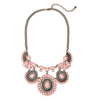 Jewel Stone Collar Necklace