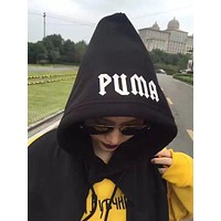 """PUMA"" Rihanna Fenty Hooded Long-sleeved Scarf"