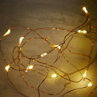 Copper Galaxy Fairy Lights - Urban Outfitters