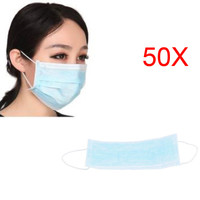 2017 Elastic Ear Loop Disposable Medical Dustproof Surgical Face Mouth Masks Ear Loop 50 Pcs